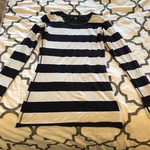 Lululemon reversible striped long sleeve top 8